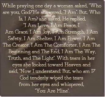 While Praying