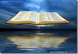 Bible Over Water