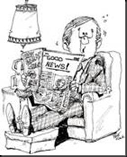 newspaper, guy