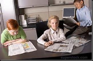 Children, Newspaper3