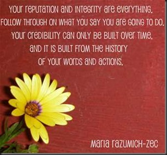 Your Repuation