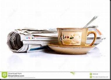 Tea, Newspaper