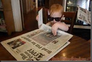 Baby, Newspaper3