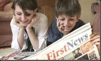 Children, Newspaper