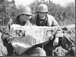 Soldiers, Newspaper