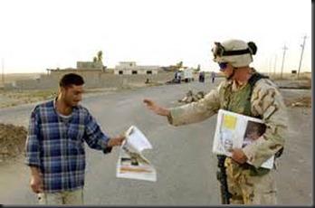 Soldier, Man, Newspaper