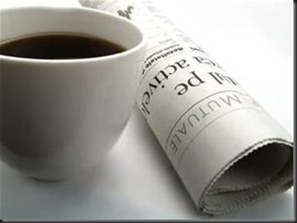 Coffee, Newspaper
