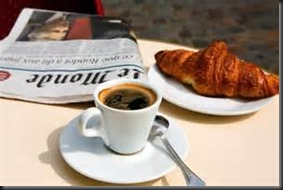 Coffee, Coursant, Newpaper