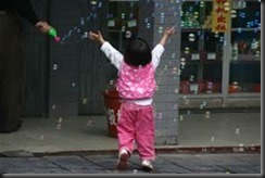 Child , Bubbles