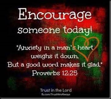 Encourage Someone
