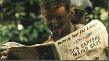 Soldier, Newspaper