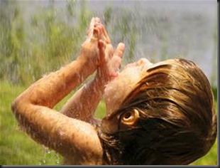 Rain, Child