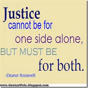 Justice Can Not