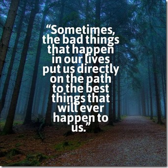 Sometimes The Bad Things
