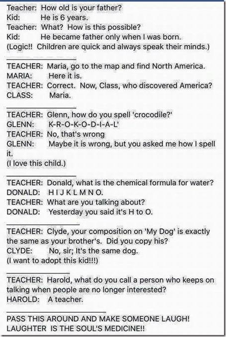 Teacher, Class