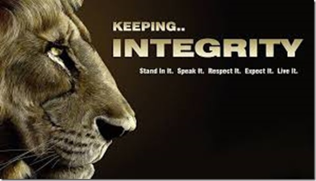 Keeping Integrity
