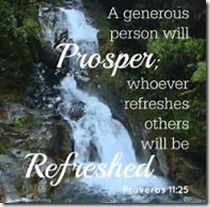 A Generous Person