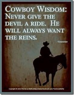 Cowboy Wisdom