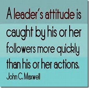 A Leader's Attitude